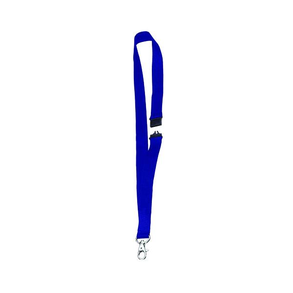 Announce Textile Necklace Blue (10 Pack) PV00672