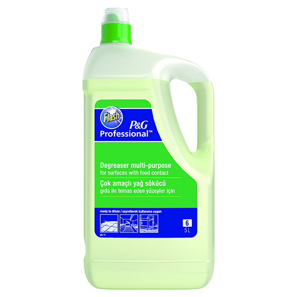 Flash Heavy Duty Cleaner and Degreaser 5 Litre 4015600561970