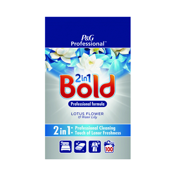 Bold Professional Laundry Powder Lotus Flower/Lilly 100 Scoops 6.5kg C003344