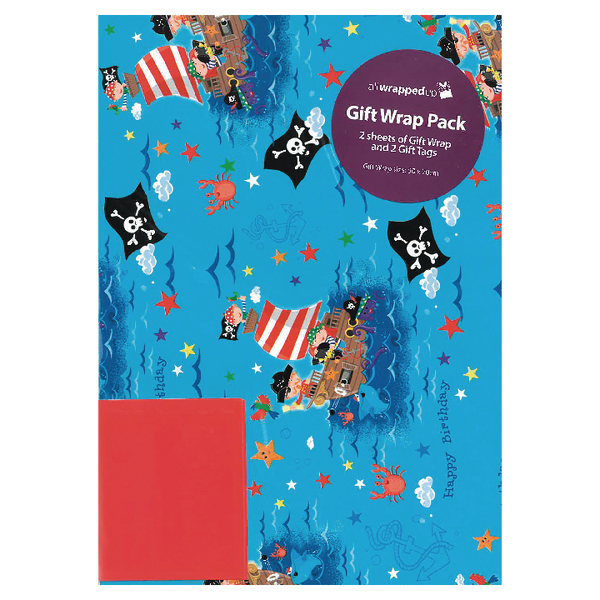 Regent Packaged Wrap Pirates (12 Pack) F372