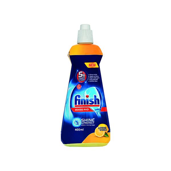 Finish Rinse Aid Lemon 400ml 74538