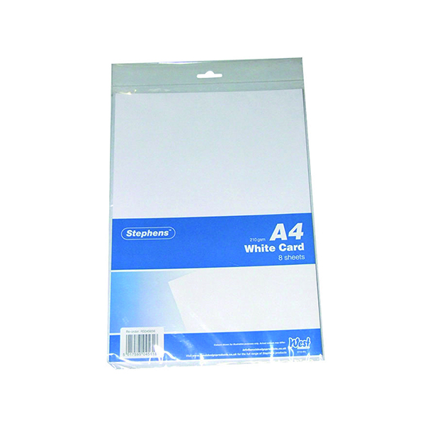 Stephens A4 White Craft Card (10 Pack) RS045656