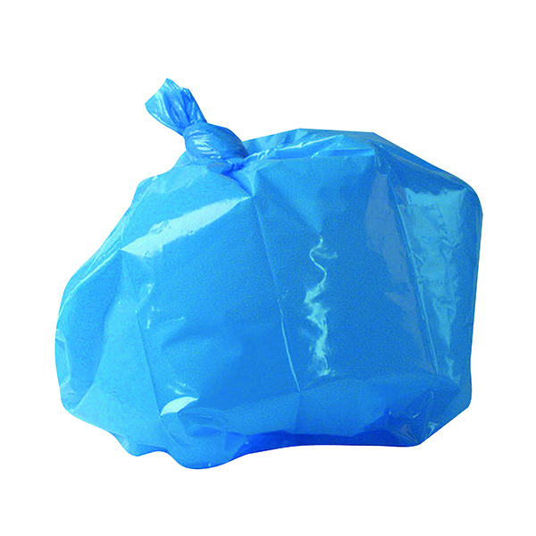2Work Refuse Sack CHSA 10KG Blue (Pack of 200) CS004