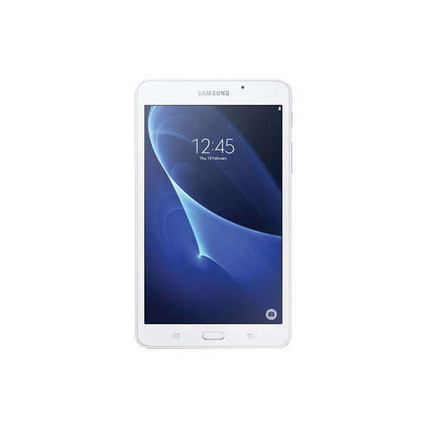 This Samsung Galaxy Tab A features a slender design with curved edges, which is stylish, lightweight and compact. With a 1.8GHz quad core processor and 1280 x 800 (WXGA) resolution (main display), the Galaxy Tab A allows you to record video in HD (1280 x