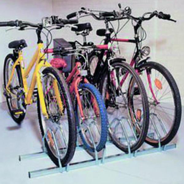 Cycle Rack 4-Bike Capacity Aluminium 309714