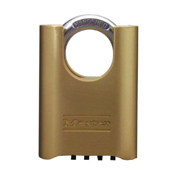 Brass Combination Change Shackle Padlock 57x25mm 319377
