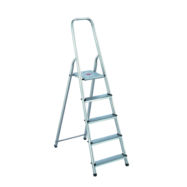 Aluminium 5 Step Ladder 405007