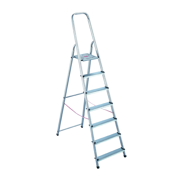 Aluminium 8 Step Ladder 4050101