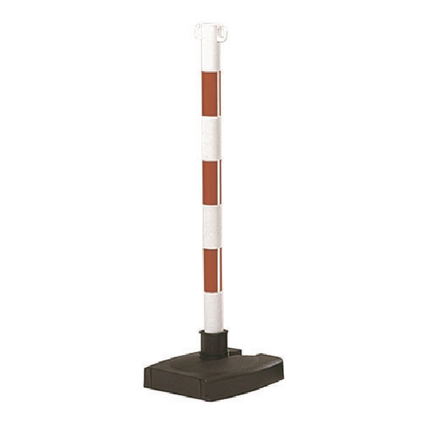 Bi-Pose Red/White Post And Base 371474