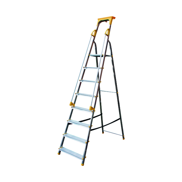 Aluminium Safety Platform Steps 8 Tread 405016