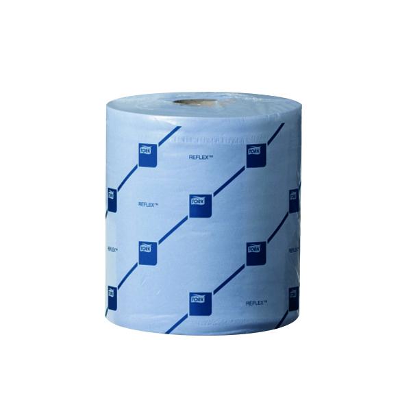Tork Reflex M4 Centrefeed Tissue 2-Ply 150m Blue (6 Pack) 473263