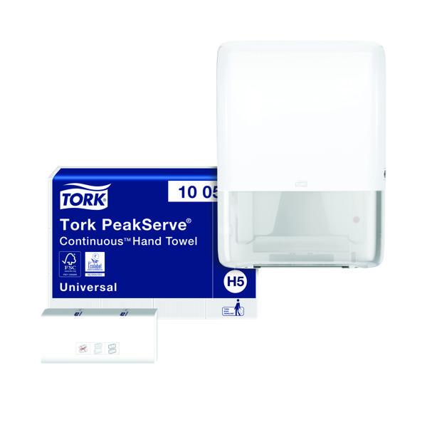 Tork PeakServe Continuous Hand Towels Buy 1 Pack Get FOC Dispenser