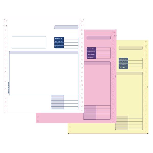 Custom Forms Sage 3 Dot Matrix Part Invoices (750 Pack) SE03