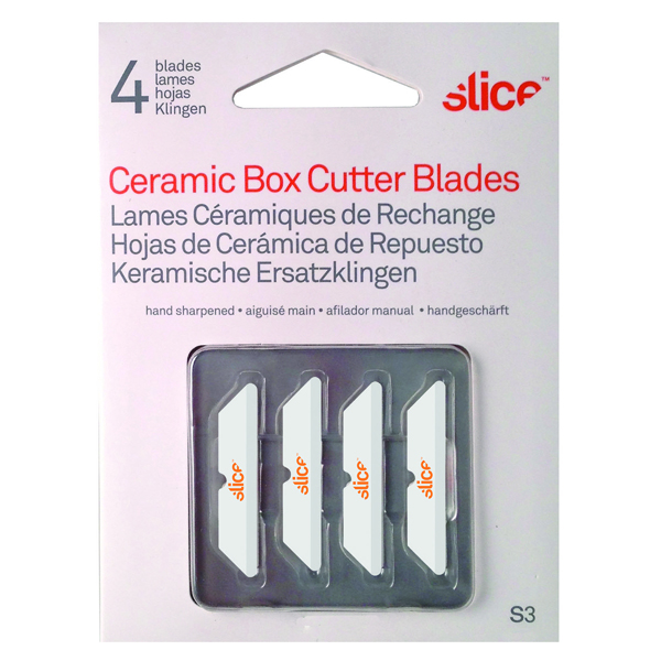 Slice Blades for Box Cutters 34mm (4 Pack) 10404