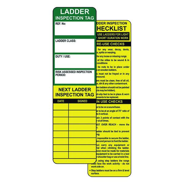 Spectrum Industrial Ladder Tagging System (10 Pack) TG0450
