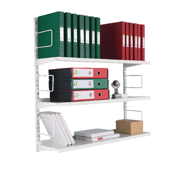 3-Tier Wall Mounted Shelf Starter ZZTS4WH100T10027