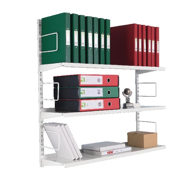 3-Tier Wall Mounted Shelf Starter ZZTS4WH100T10027