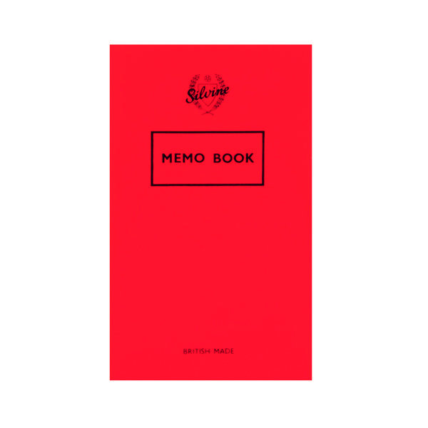 Silvine Memo Book 159x95mm 36 Leaf Ruled Feint (24 Pack) 042F-T
