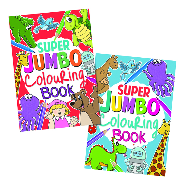 Artbox Jumbo Colouring Book (6 Pack) 4049