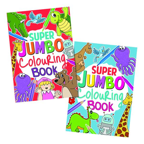 Artbox Jumbo Colouring Book (6 Pack) 4049