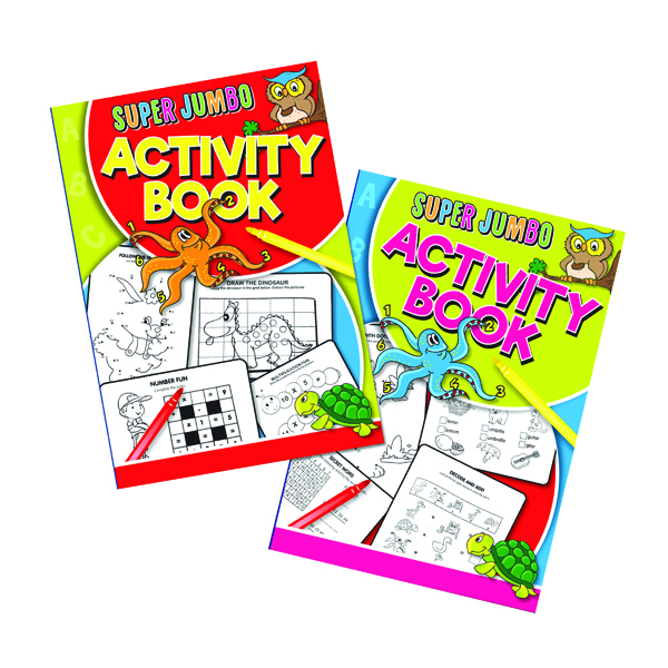 Artbox Super Jumbo Activity Book (6 Pack) 4052