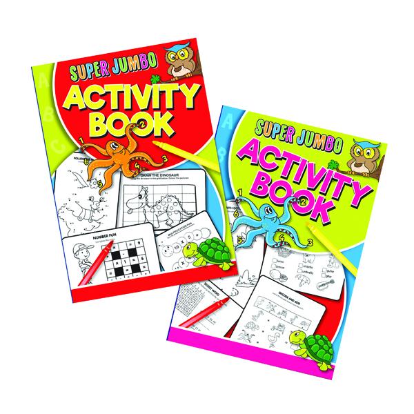 Artbox Super Jumbo Activity Book (6 Pack) 4052