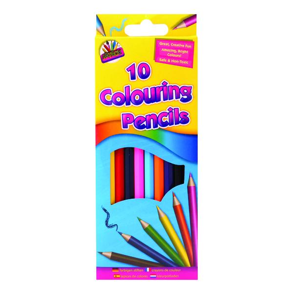 Artbox 10 Full Size Colour Pencils (10 Pack) 5120