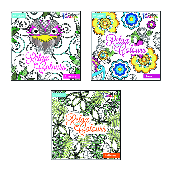 Artbox Colouring Book Series Three (12 Pack) 6847