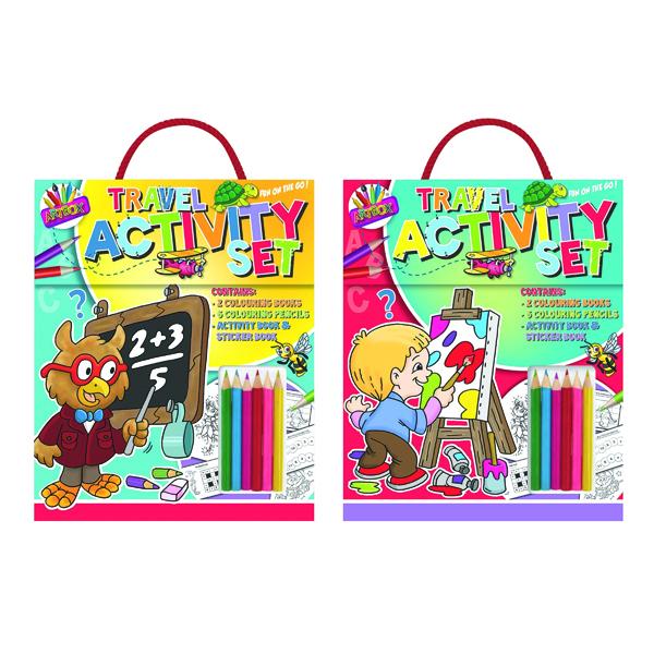 Artbox Childrens Travel Activity Set (6 Pack) 6893