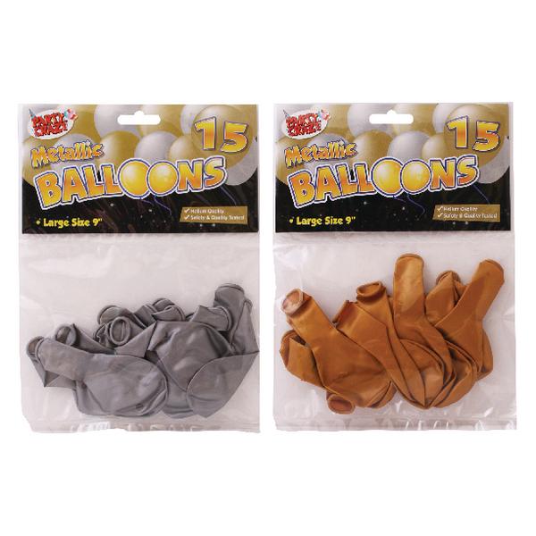 Tallon Metallic 9-inch Round Balloons (180 Pack) 5702
