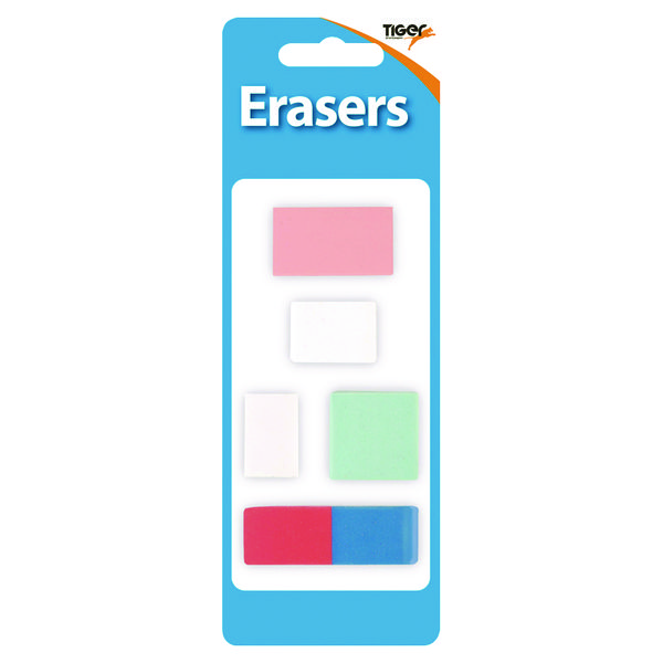 Assorted Design Erasers (60 Pack) 302022