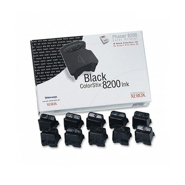 Xerox Phaser 8200 Black Colorstix (10 Pack) 016204400