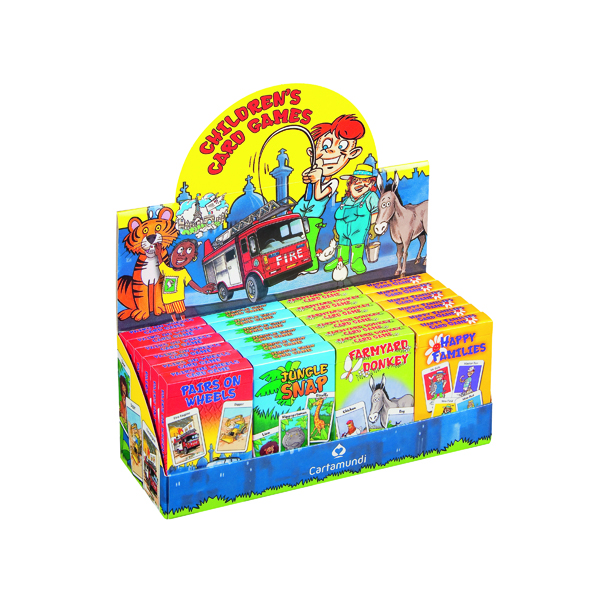 Cartamundi Children's Card Games Display (Pack of 24) 107677998