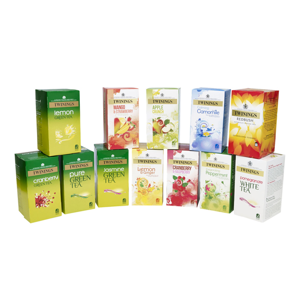 Twinings Herbal Infusion Tea Bags Variety Pack (240 Pack) F14908