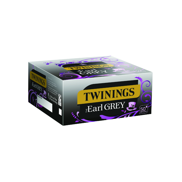 Twinings Earl Grey Envelope Tea Bags (Packs of 300 Pack) F09582