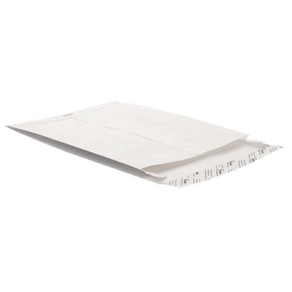 Tyvek Envelope 324x229x20mm Gusset Peel and Seal White (100 Pack) 754924