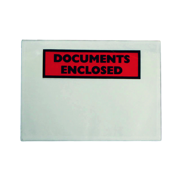 Documents Enclosed Self-Adhesive DL Document Envelopes (1000 Pack) 4302004