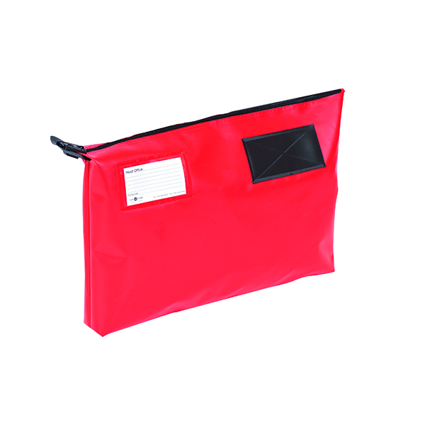 Go Secure Red 470x336x76mm Mail Pouch GP2R