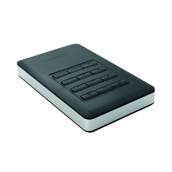 Verbatim Store 'n' Go Secure Portable HDD USB 3.1 1TB 53401
