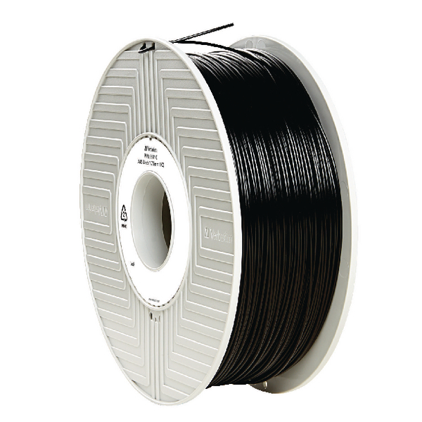 Verbatim ABS 3D Printing Black Filament 1.75mm 1kg Reel 55010