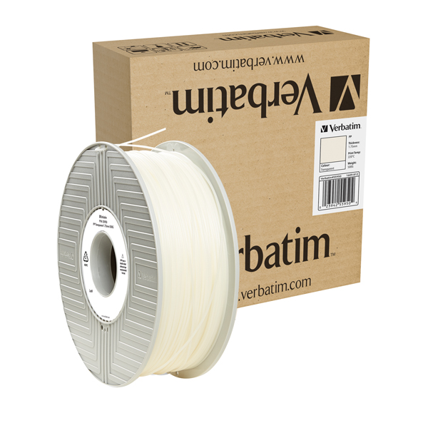 Verbatim PP 1.75mm 500g Reel Natural 55950