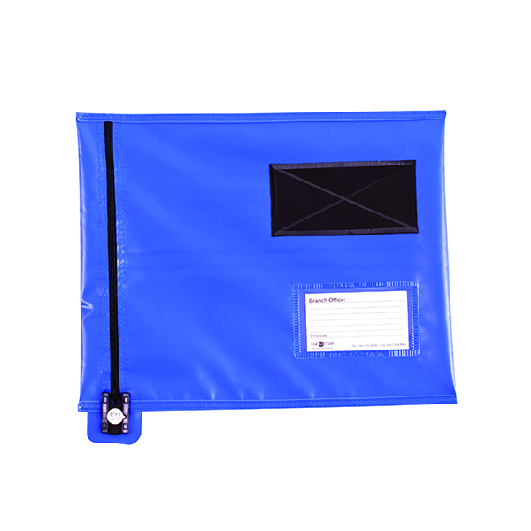 Go Secure Flat Mailing Pouch 286x336mm Blue CVF1