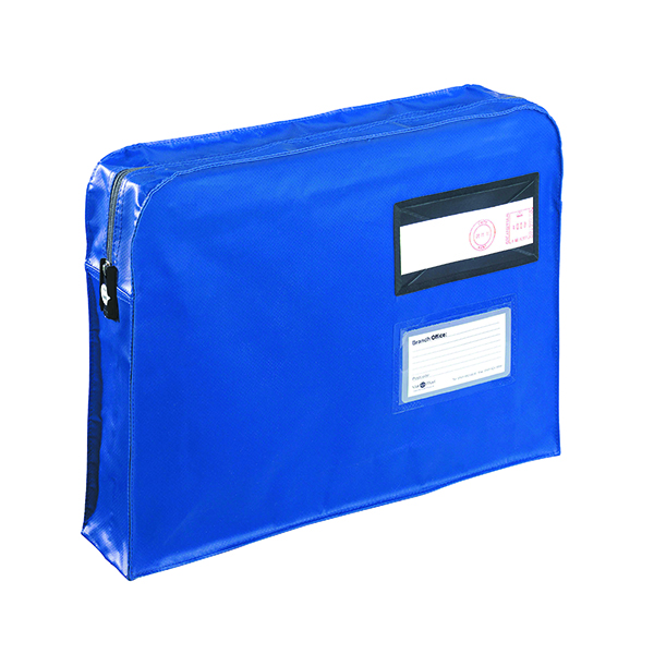 Go Secure Gusset Mailing Pouch 457x330x76mm Blue VFT3