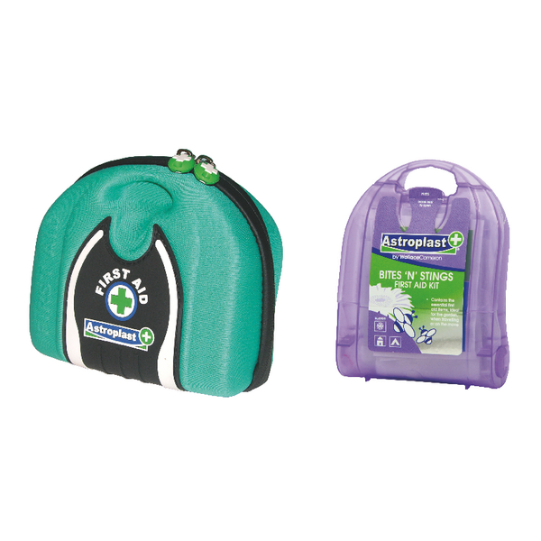 Wallace Cameron First Aid Travel Pouch With FOC Bites n Stings Pack WAC10719