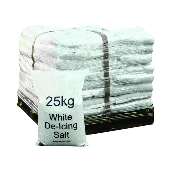 Winter De-Icing Salt White 25kg (40 Pack) 383208