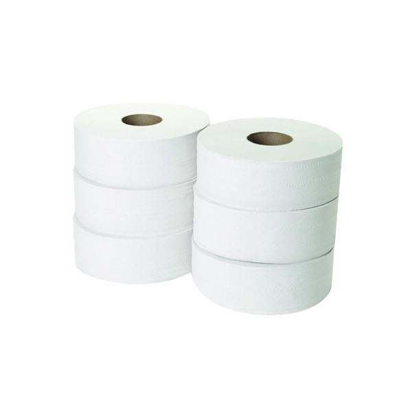 2-Ply Jumbo Toilet Roll 300 Metres (6 Pack) JWH330
