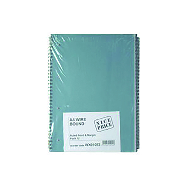 A4 Spiral Pad (12 Pack) WX01072