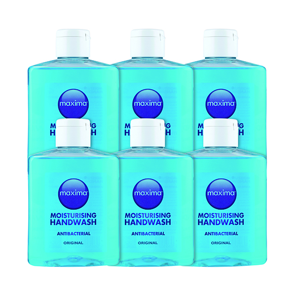 Antibacterial Soap 250ml (6 Pack) 0604002