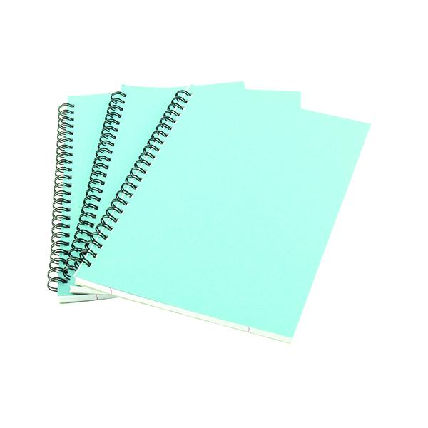 Blue A5 Spiral Pad (12 Pack) WX10039