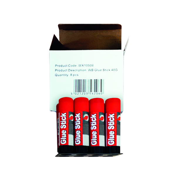 Large Glue Stick 40g (8 Pack) WX10506